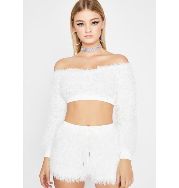 Angel Pretty Shimmy Shorts Set