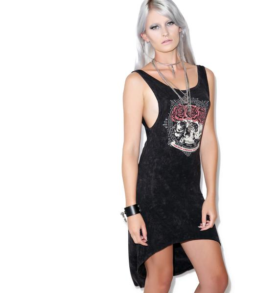 Sourpuss Clothing Omni Hi Low Dress
