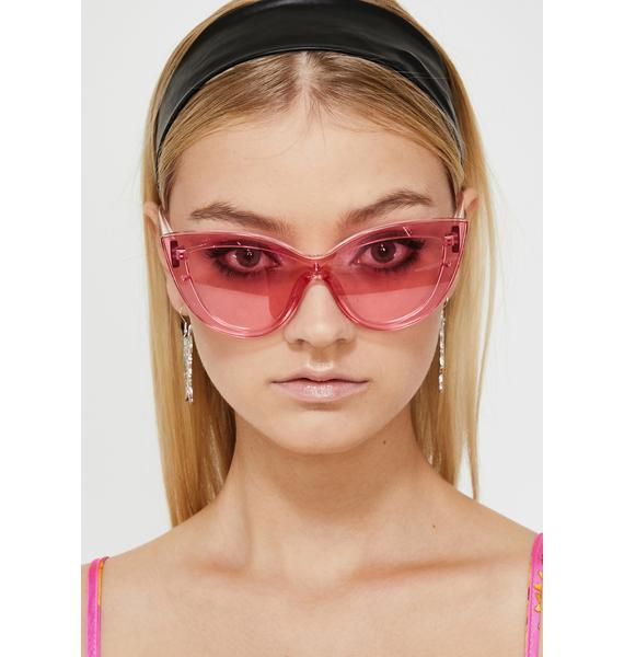 High Glamour Gossip Oversized Sunglasses