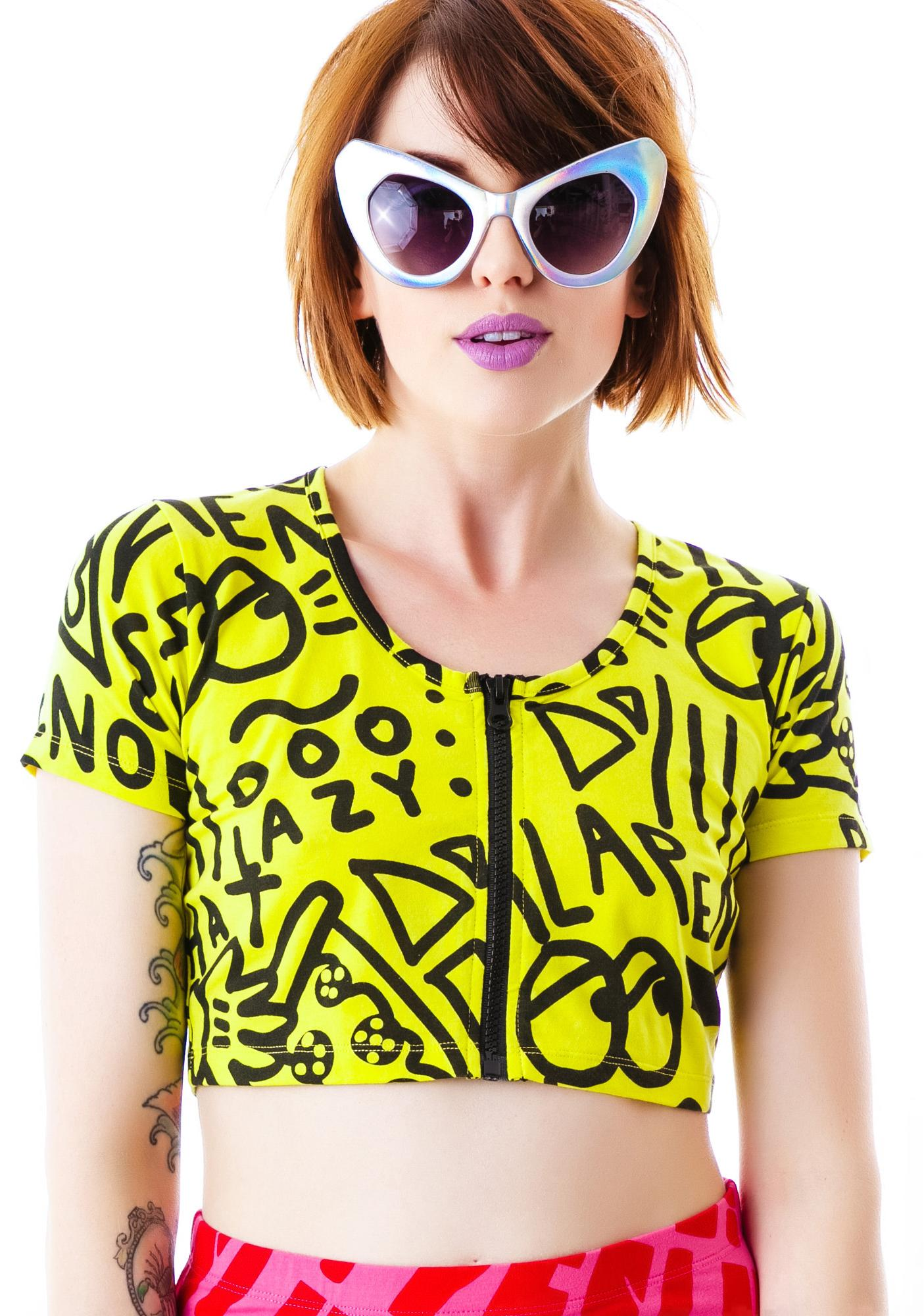 Lazy Oaf Zippity Top