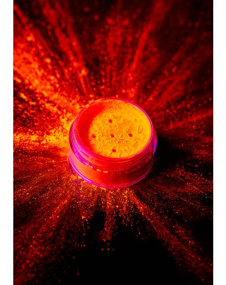 Intense Orange UV Neon Pigment Shaker