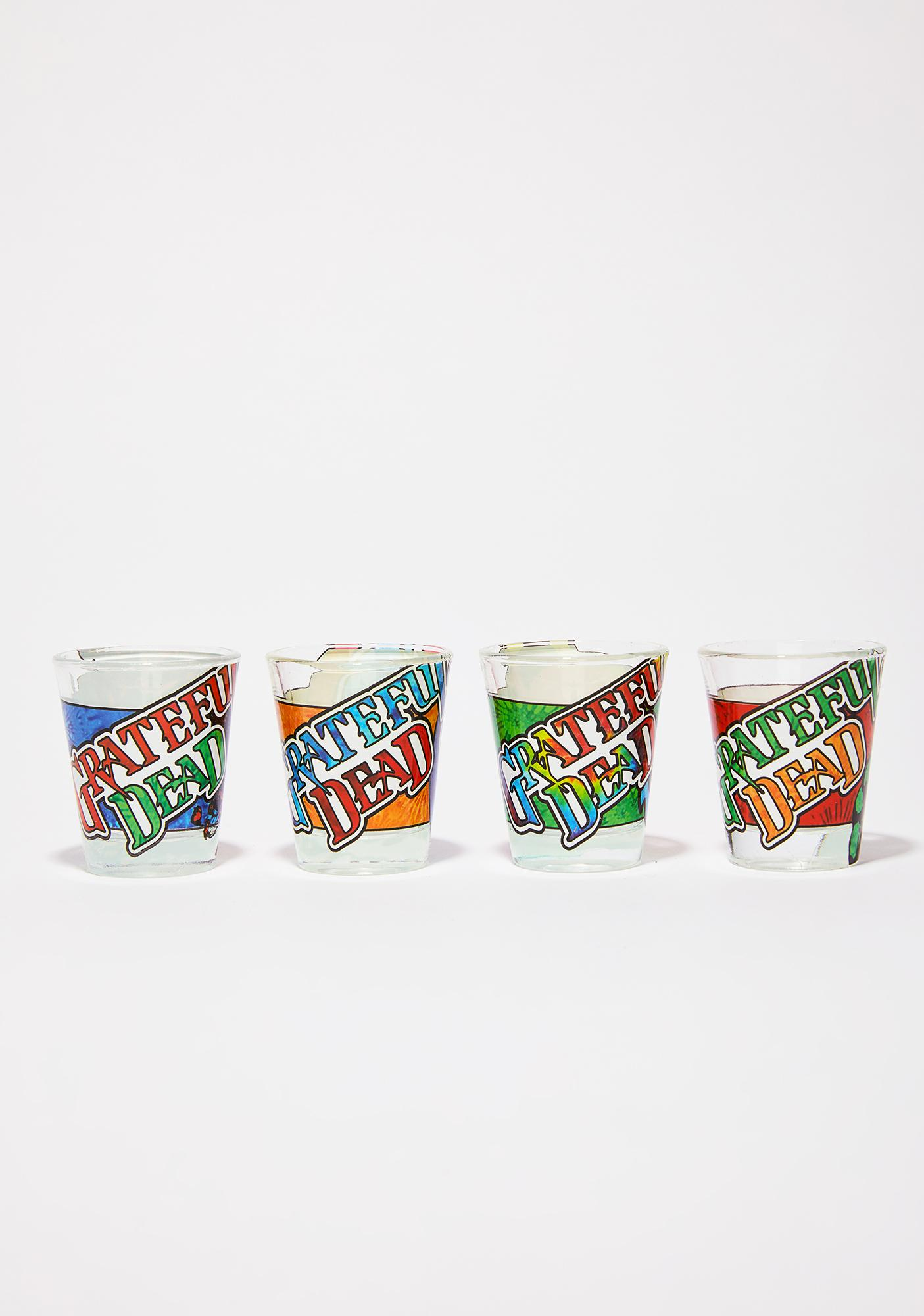 Sugar Magnolia Shot Glass Set