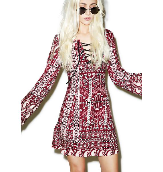 Somedays Lovin Faultless Aztec Dress
