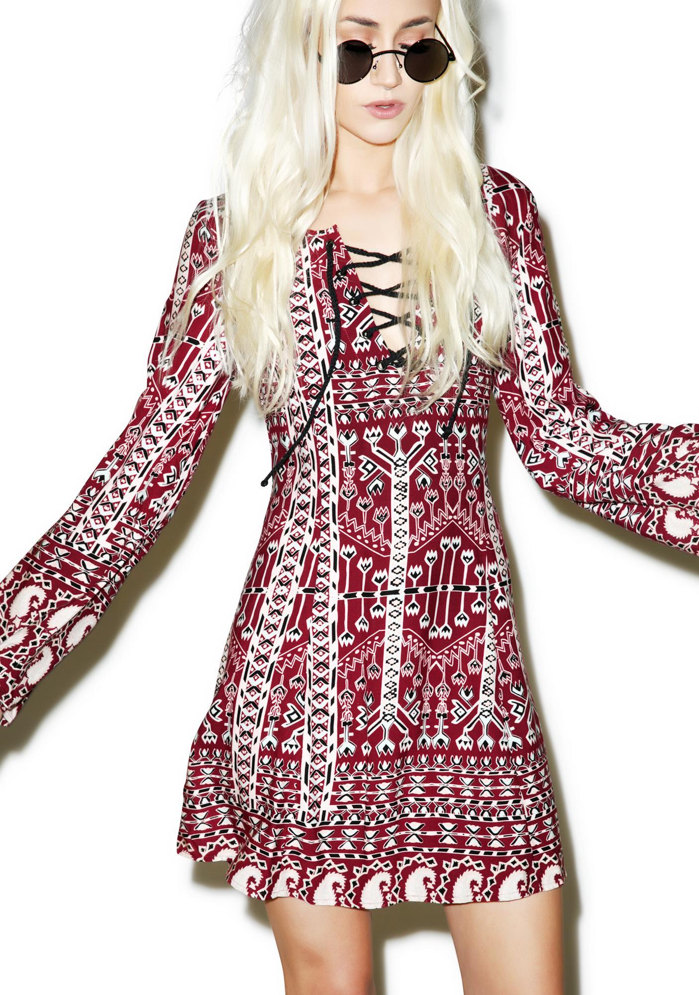 Somedays Lovin Faultless Aztec Dress