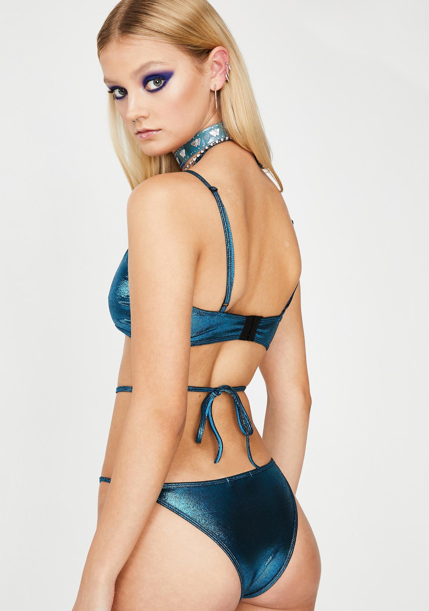 Club Exx Sensory Surge Cutout Bodysuit