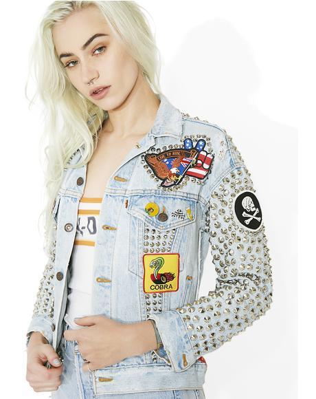 Vintage Deadstock Live Free Jacket