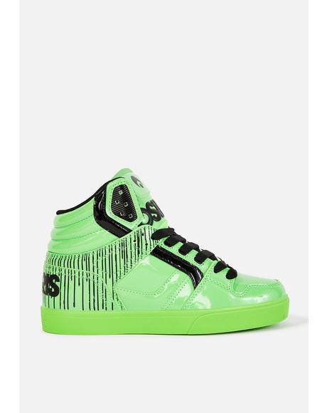 Green Clone Sneakers