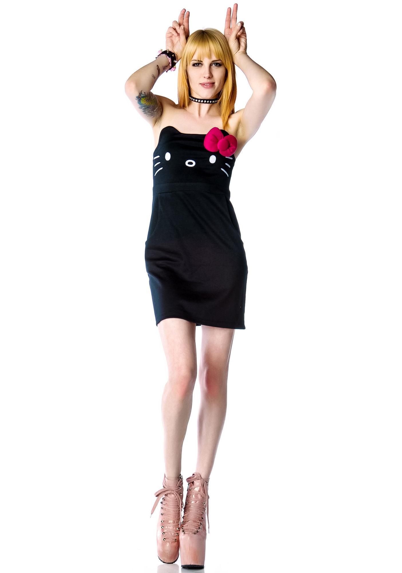 Japan L.A. Hello Kitty Face Dress