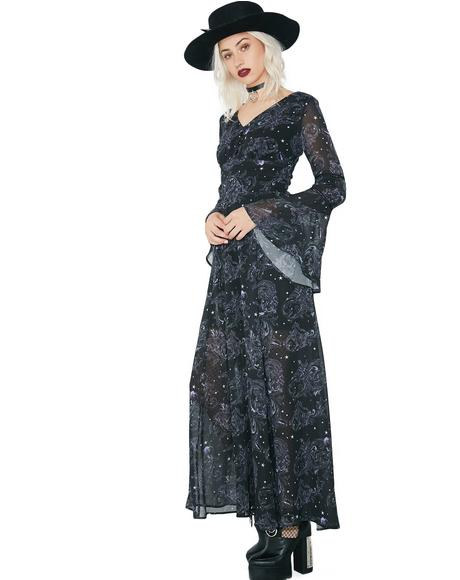 Dark Sea Maxi Dress