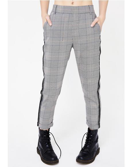 Band Nerd Plaid Pants