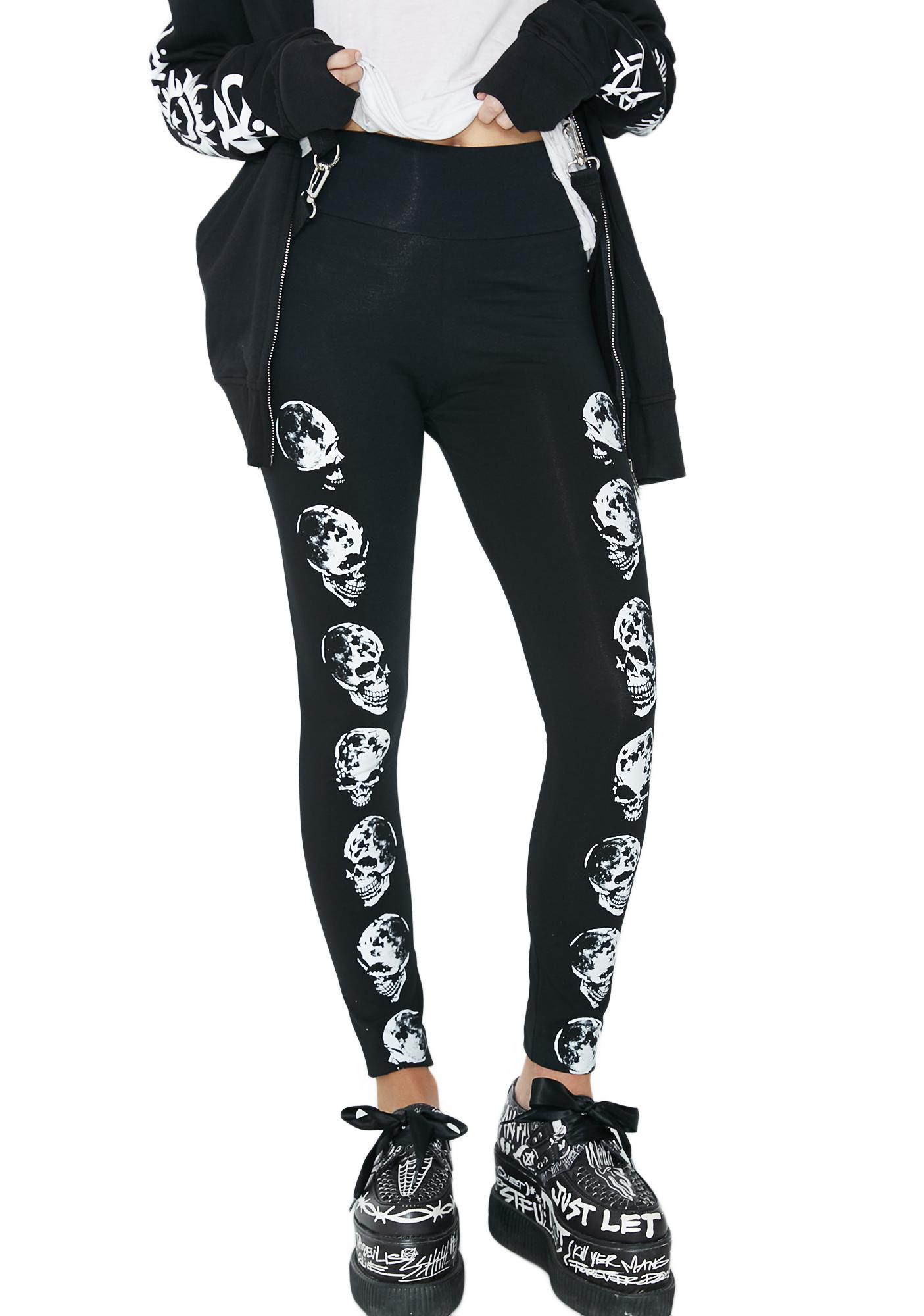 Killstar Luna Morte Leggings