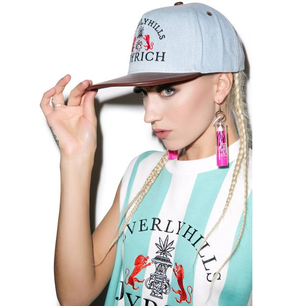 Joyrich High Beverly Hills Denim Snapback