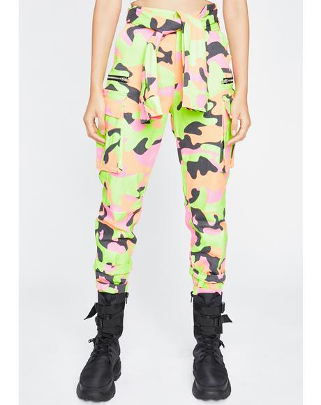 Baddie Reloaded Camo Pants