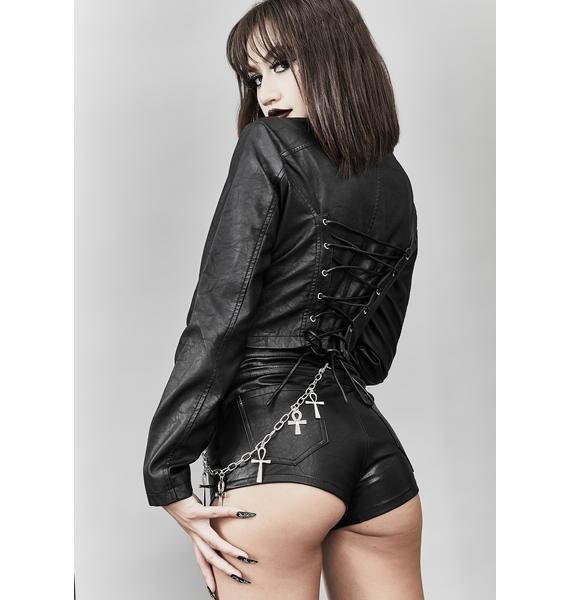 Widow Give You Hell Moto Jacket
