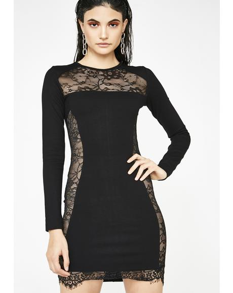 Film Noir Lace Dress