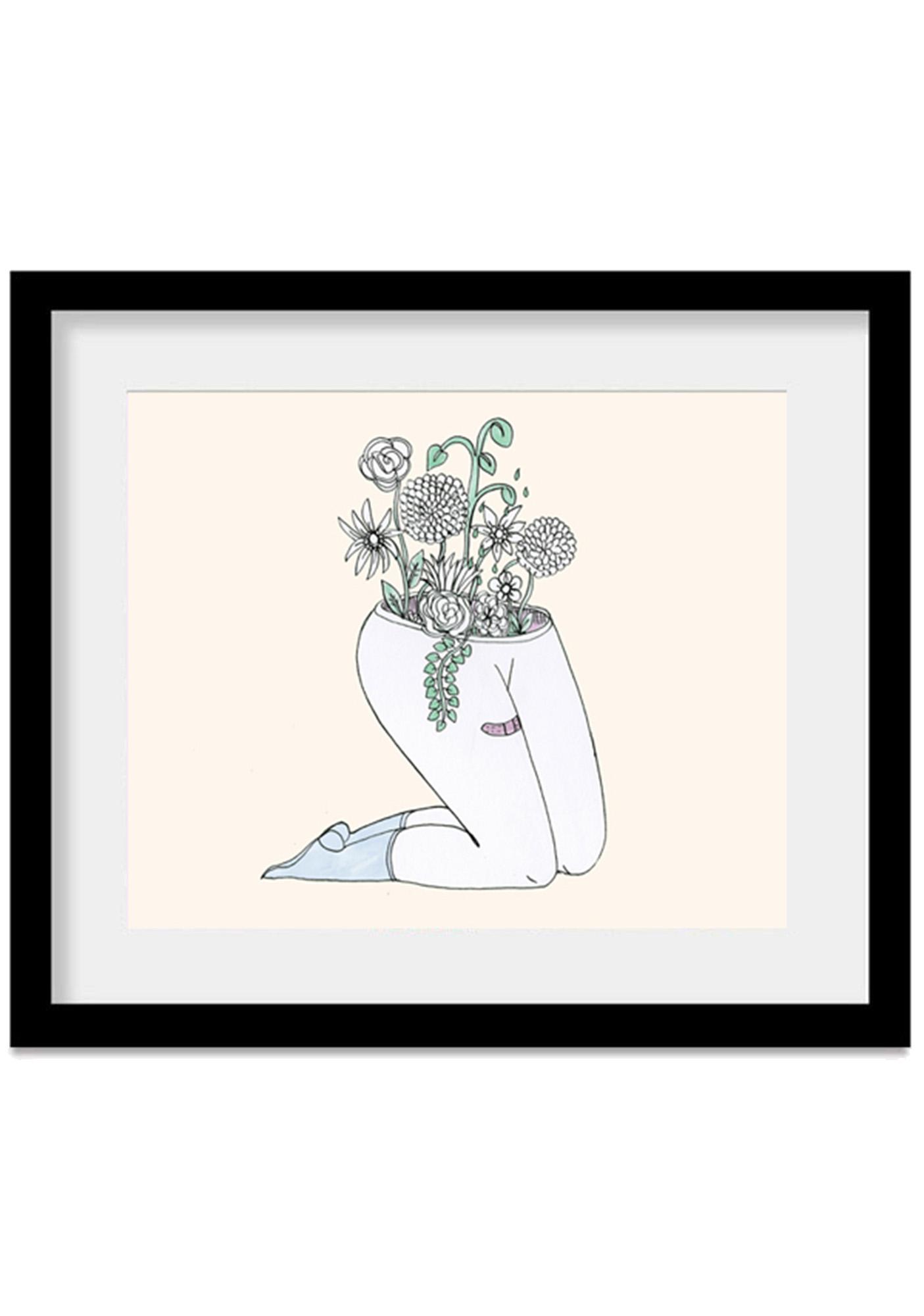 Valfr� Plantas Art Print