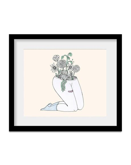 Plantas Art Print