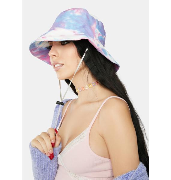 Sweet Trippy Love Tie Dye Bucket Hat