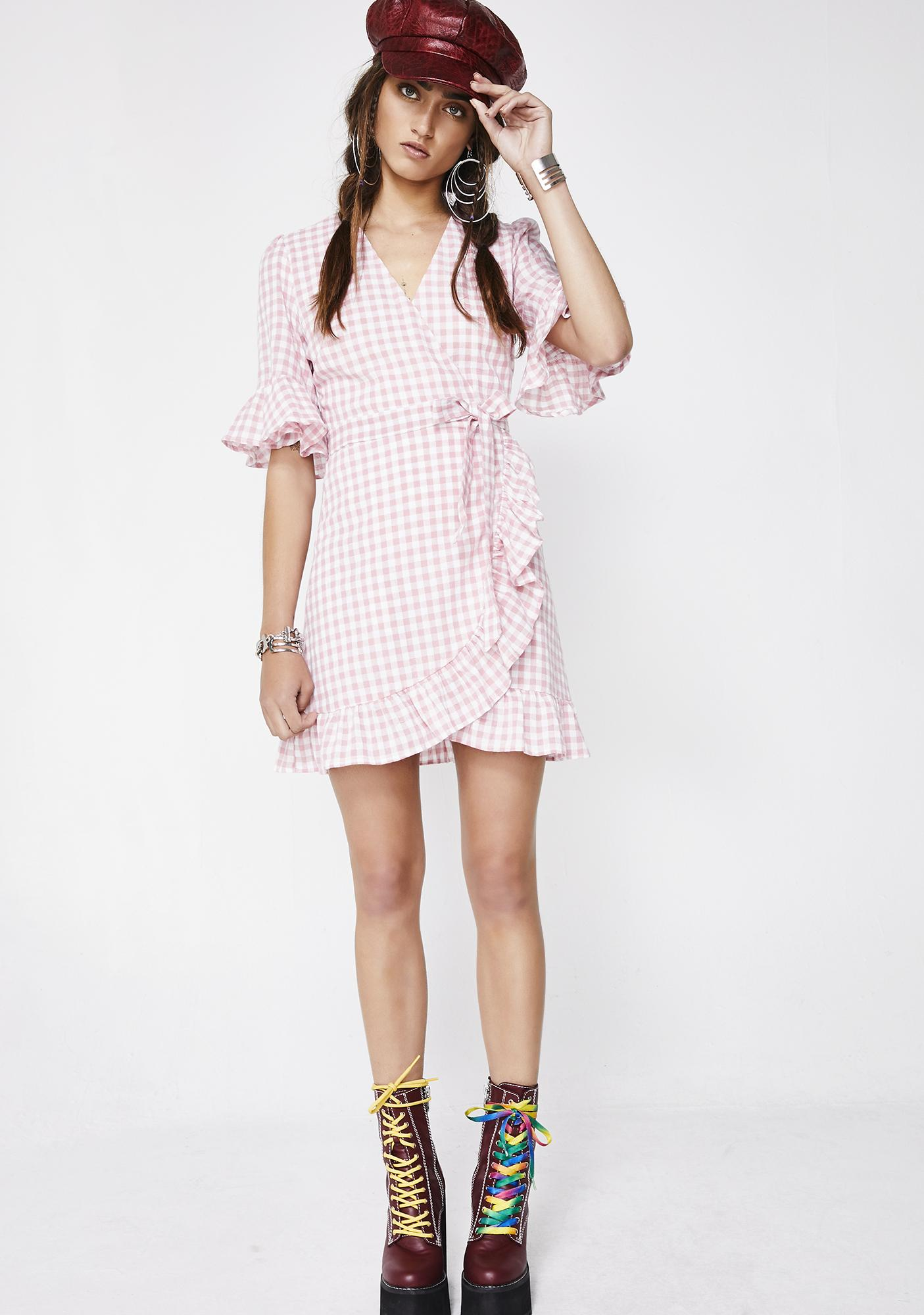 Girly Attitude Gingham Dress