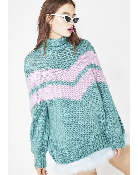 Astral Oracle Knit Turtleneck