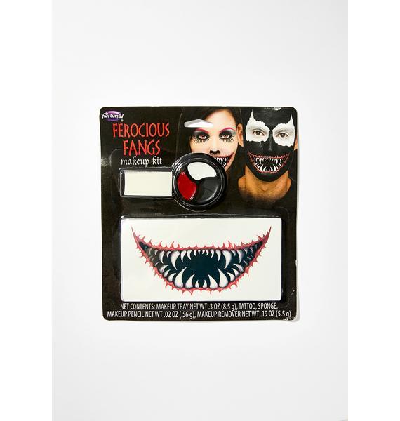 Ferocious Fangs Makeup Kit