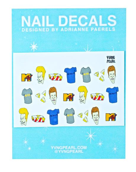 Uh Hey Baby Nail Decals
