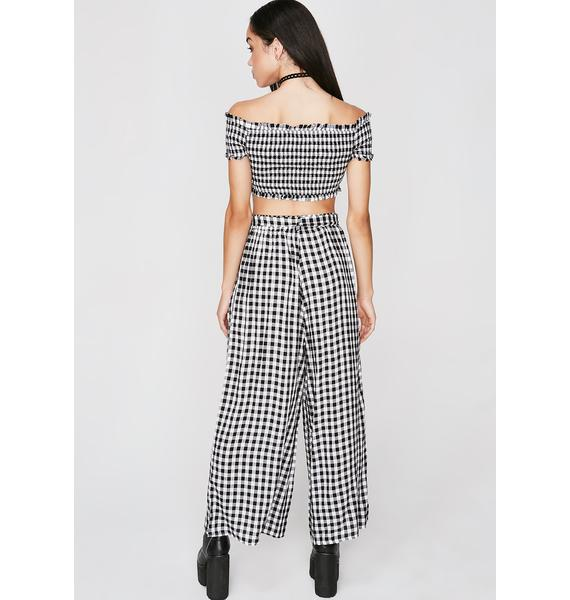 Come Along Gingham Set
