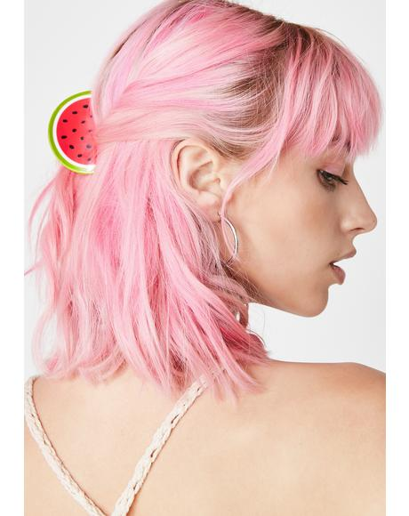 Refreshin' Watermelon Hair Clip