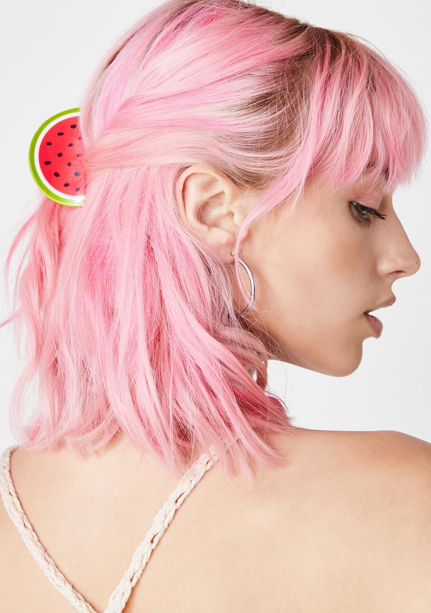 Refreshin' Watermelon Hair Clip