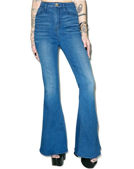 Gypsy Bell Bottom Jeans