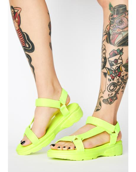 Atomic Flex Alert Strappy Sandals