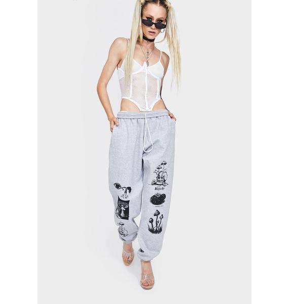 No Hours Grey These Days Jogger Sweatpants