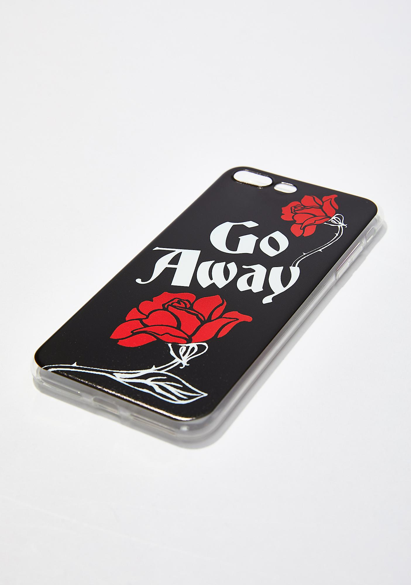 Witch Worldwide Go Away iPhone Case