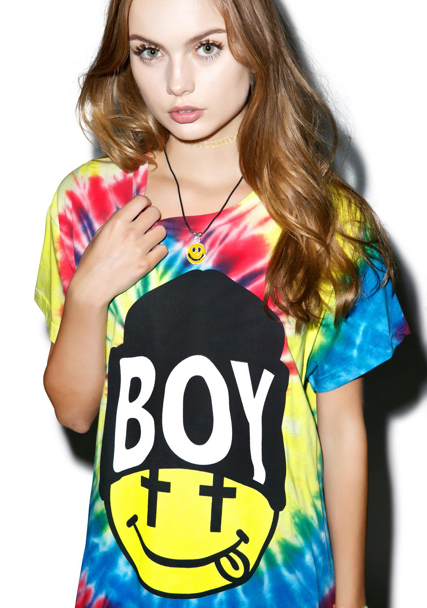 BOY London United Boy Acid Beanie Standard Tee