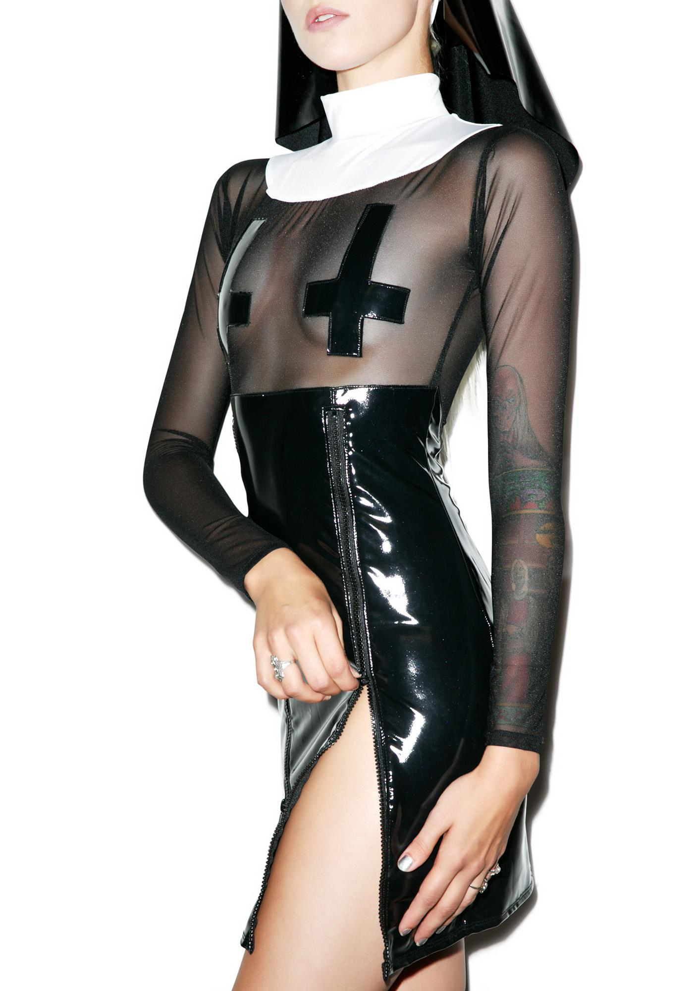 Nun More Black Costume