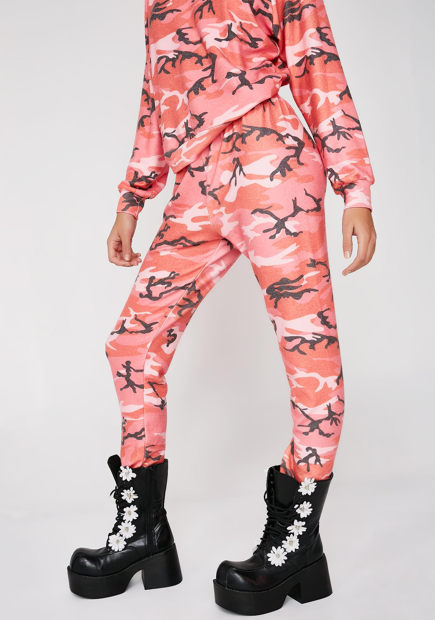Wildfox Couture Fire Camo Knox Pants