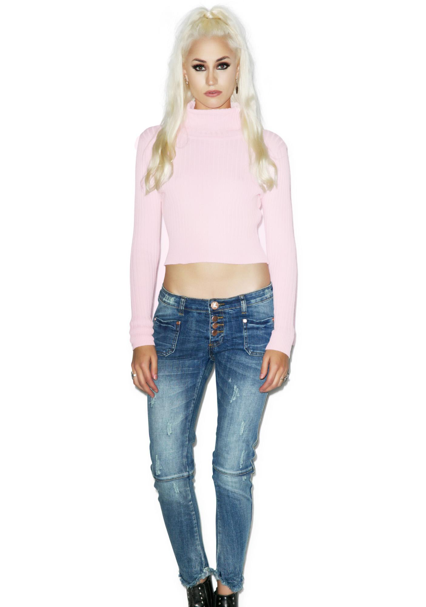 Glamorous Party In The Valley Crop Top