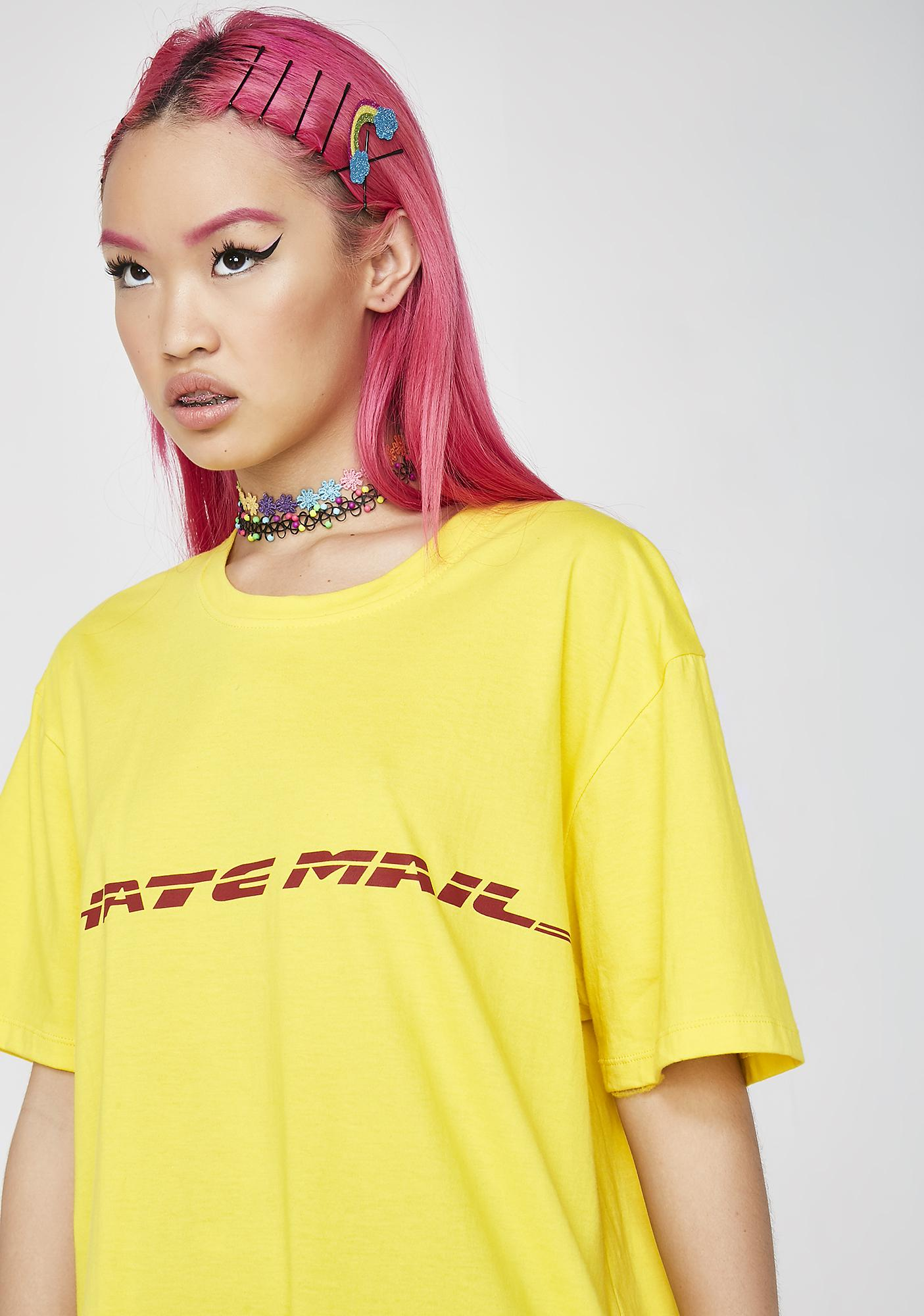 Motel Hate Mail Oversized Tee