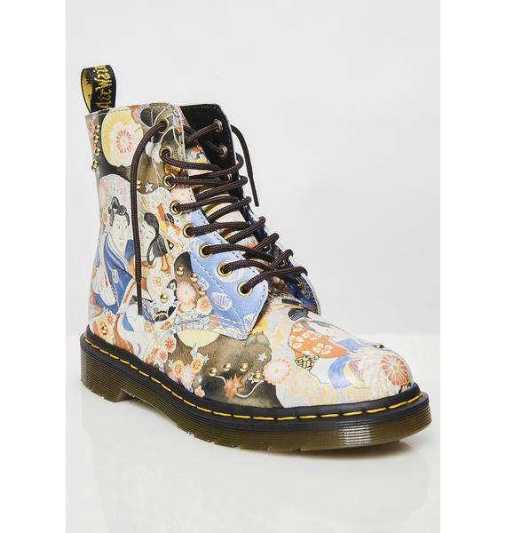 Dr. Martens Pascal Eastern Art Boots