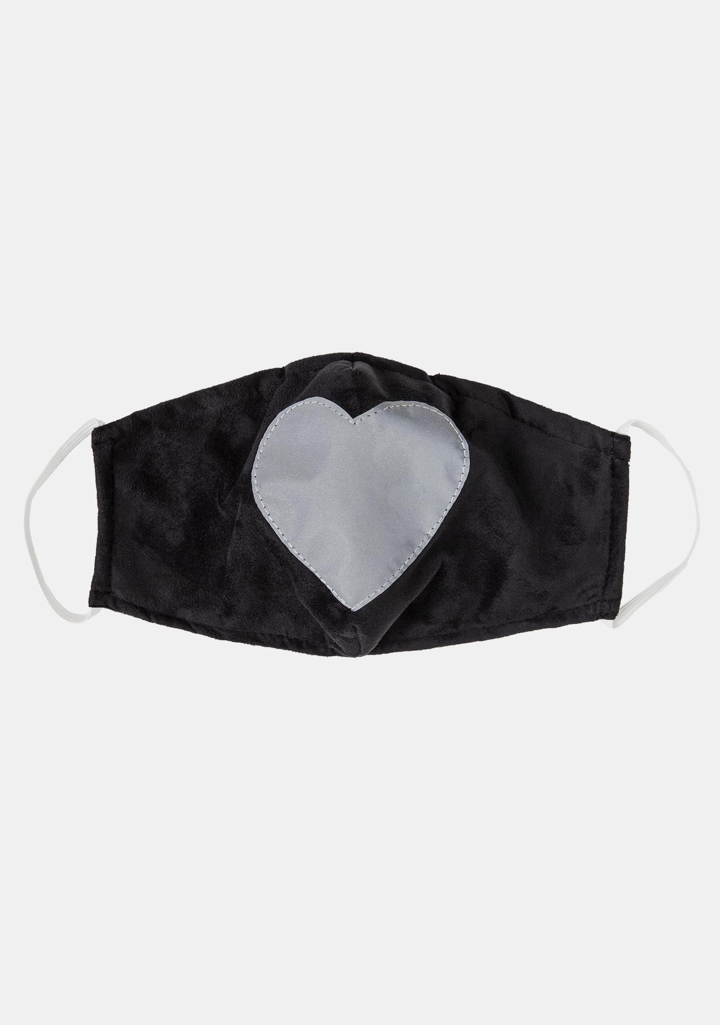 ESQAPE Reflective Heart Face Mask