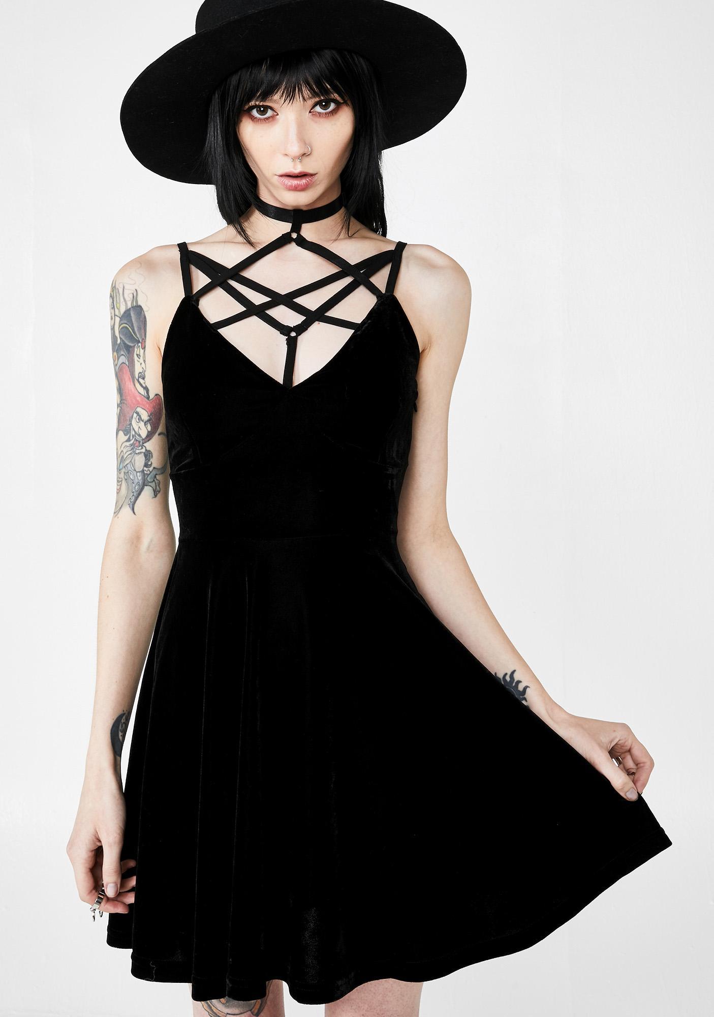 Killstar Magica Skater Dress