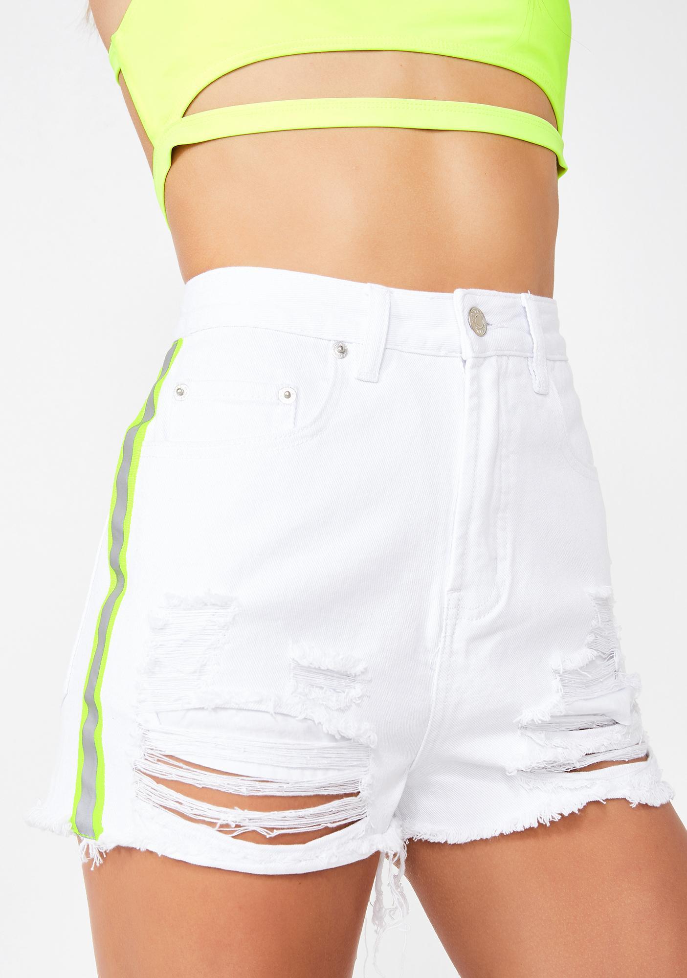 Pure Headlight Haze Denim Shorts