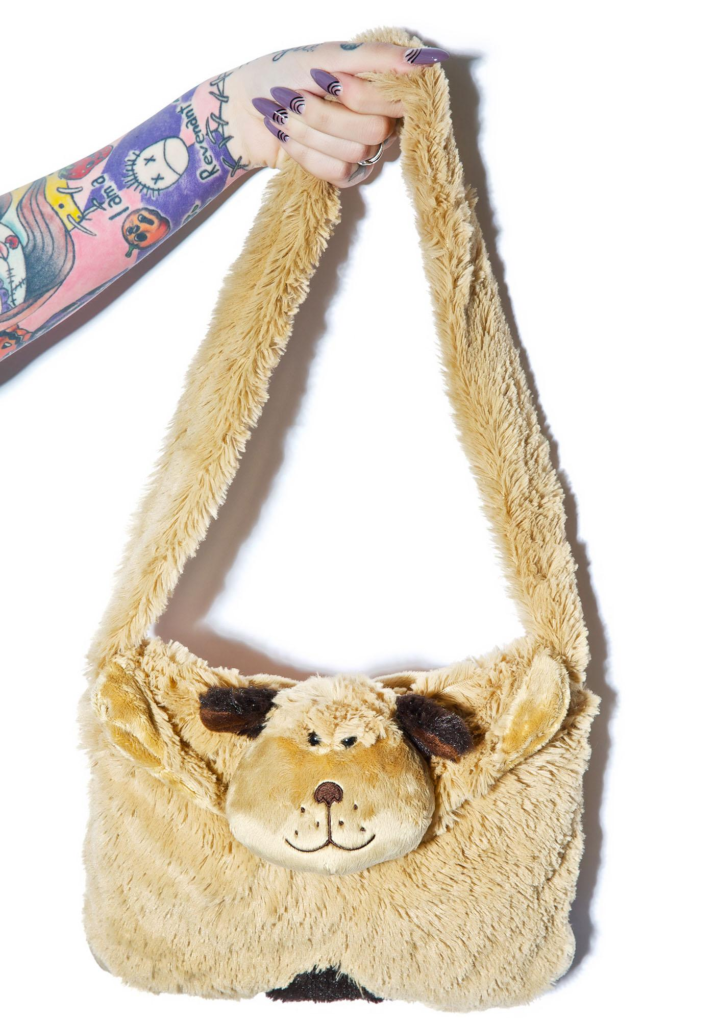 Pillow Pets Snuggly Puppy Purse