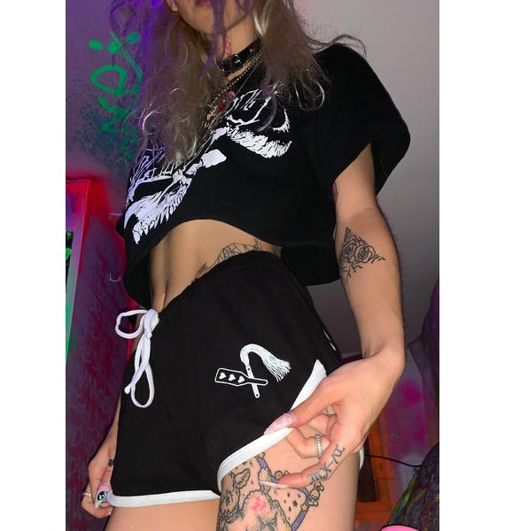 Too Fast Spank Me Booty Shorts