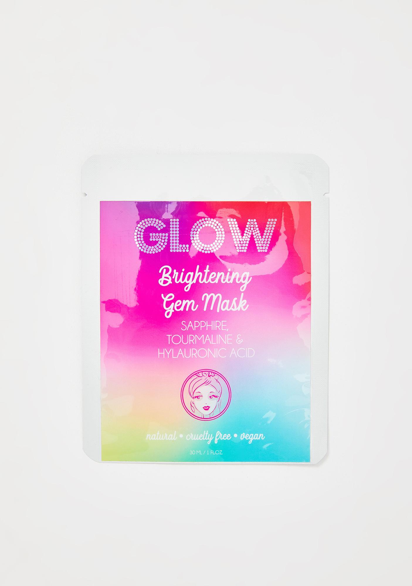 GLOW Hyaluronic Acid Brightening Gem Face Mask