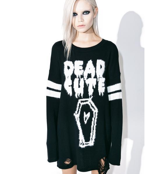 Iron Fist Dead Cute Torn Sweater