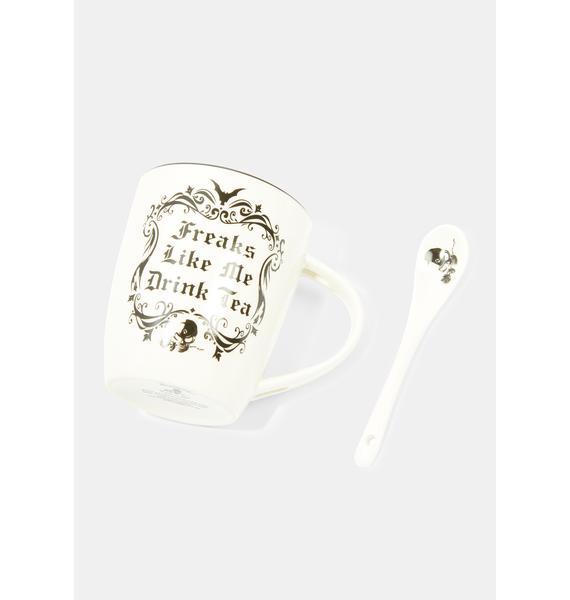 Alchemy England Freaks Like Me Drink Tea Mug
