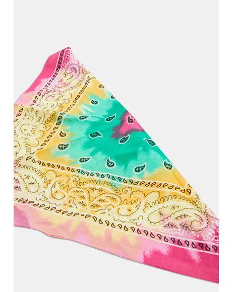Taffy Tie Dye Scarf