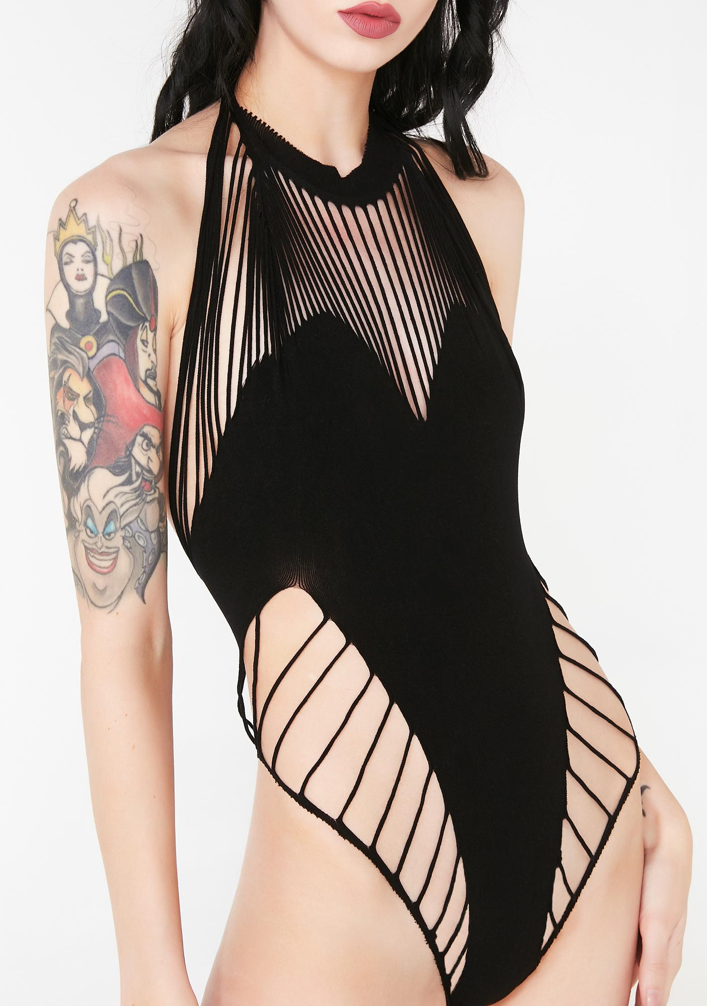 Vampiress Strappy Bodysuit