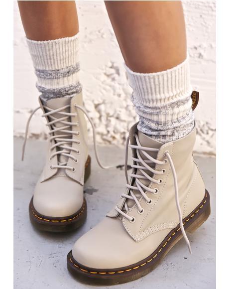Pascal 8 Eye Boots
